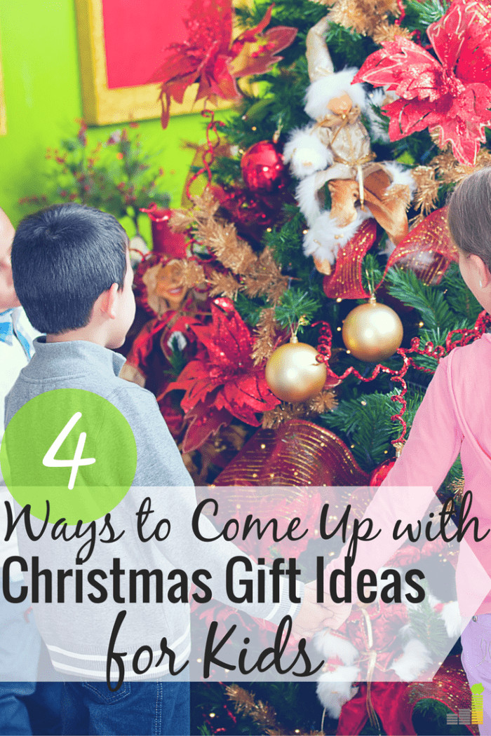 Great Gift Ideas For Kids  How I e Up With Great Christmas Gift Ideas for Kids