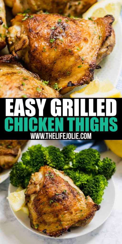 Grilled Chicken Thighs Marinade  Easy Grilled Chicken Thighs an easy grilled chicken recipe