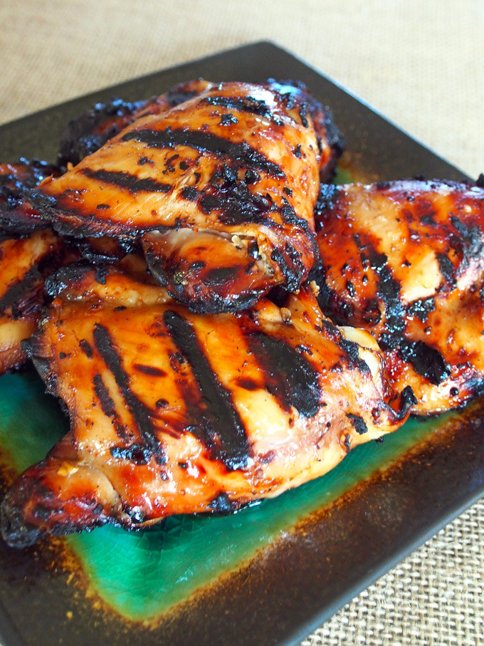 Grilled Chicken Thighs Marinade  Asian Marinated Grilled Chicken Thighs – Gravel & Dine