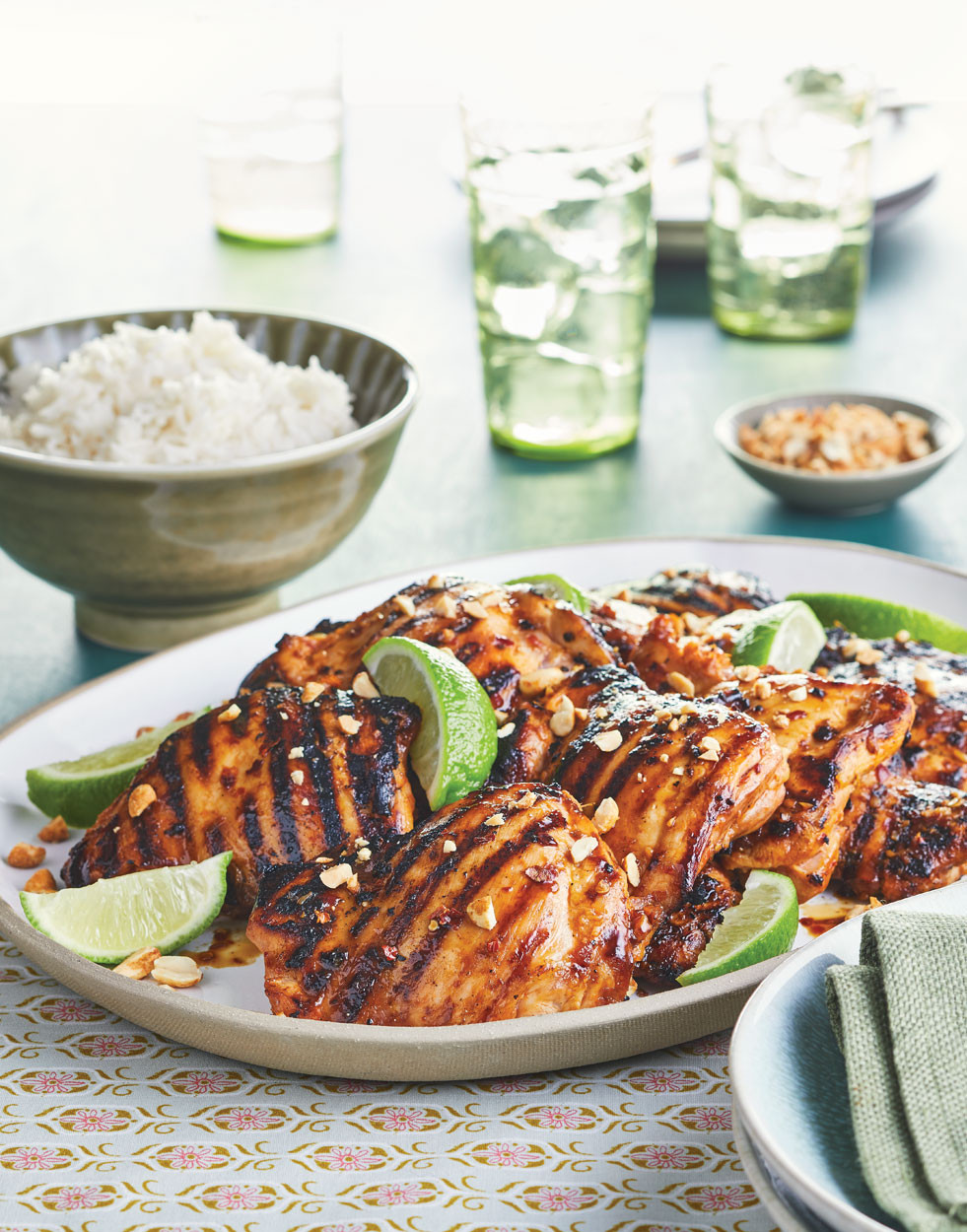 Grilled Chicken Thighs Marinade  Grilled Chicken Thighs with Sambal Marinade Recipe