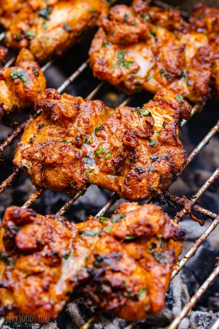 Grilled Chicken Thighs Marinade  Juicy & Tender Grilled Boneless Chicken Thighs Recipe