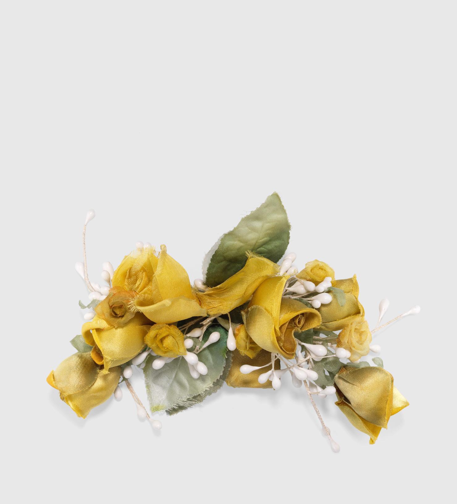 Gucci Brooches  Lyst Gucci Flower Brooch In Silk