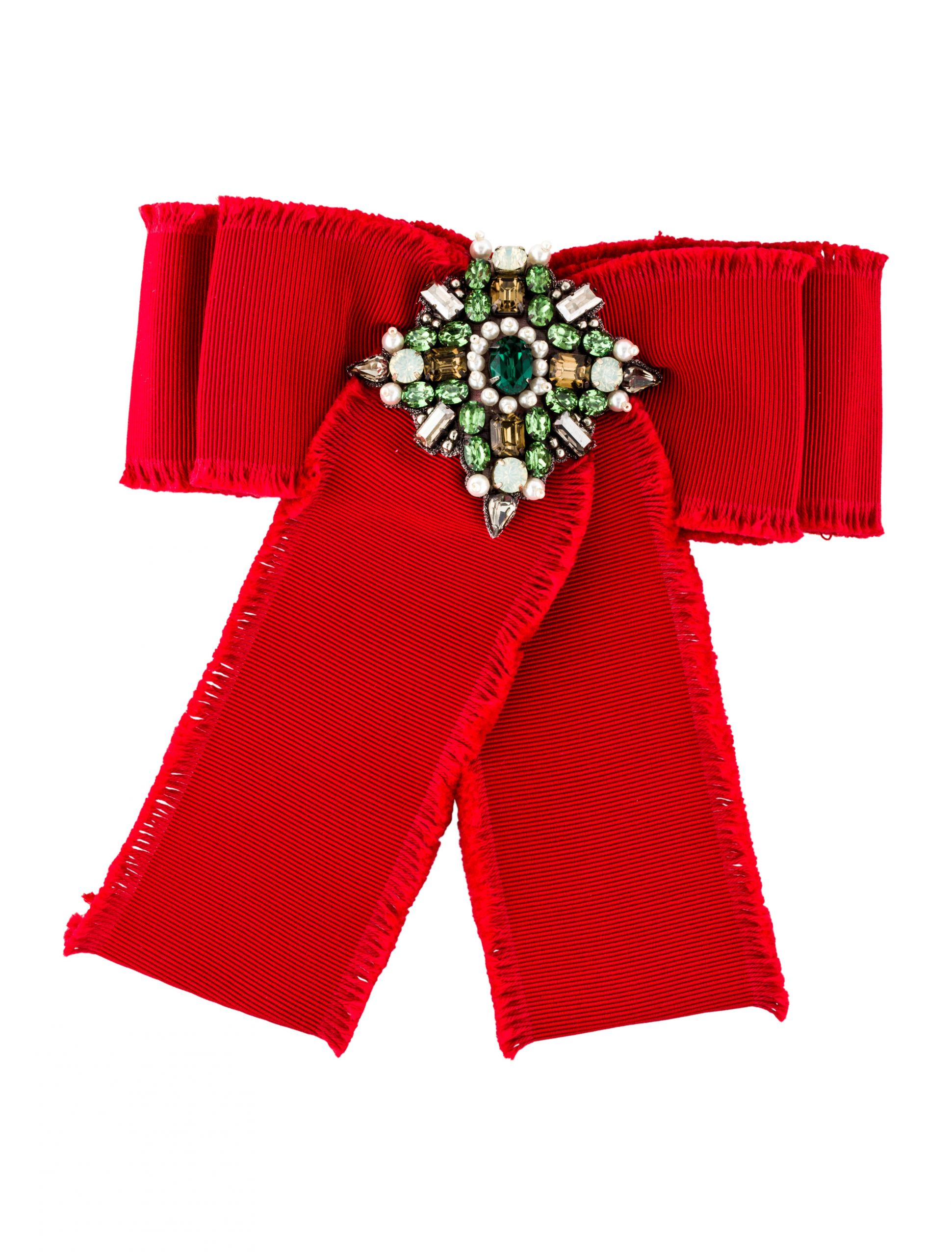 Gucci Brooches  Gucci Grosgrain Bow Brooch Brooches GUC