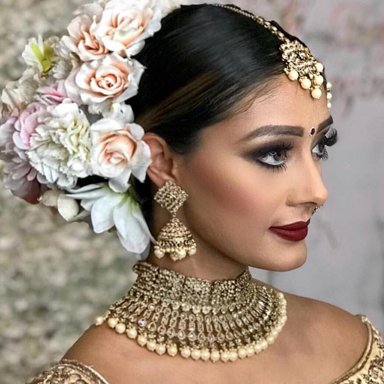 Hairstyles For Indian Brides  11 Hottest Indian Bridal Hairstyles For Your Wedding