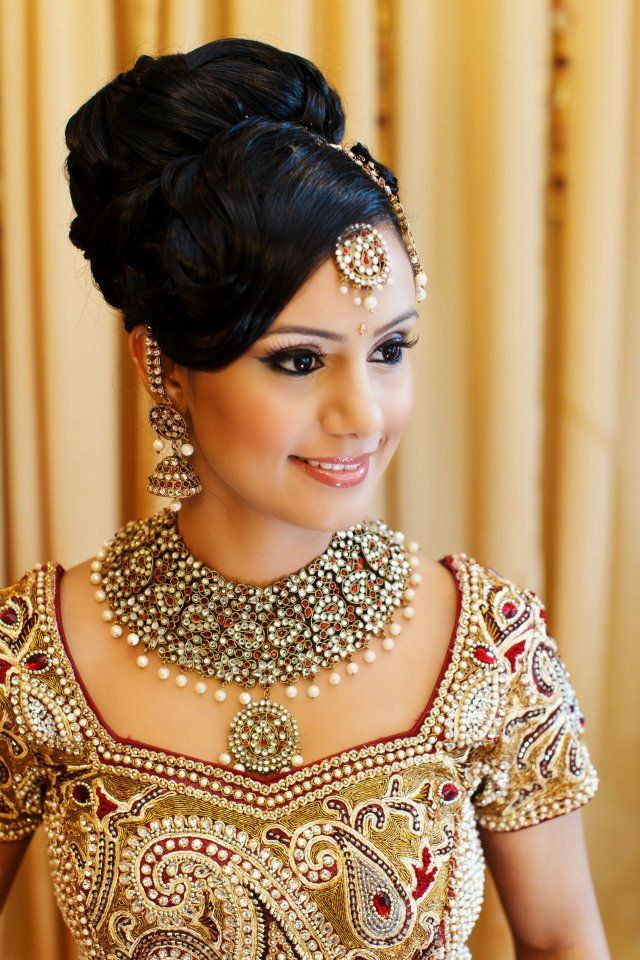 Hairstyles For Indian Brides  21 Beautiful Indian bridal hairstyles