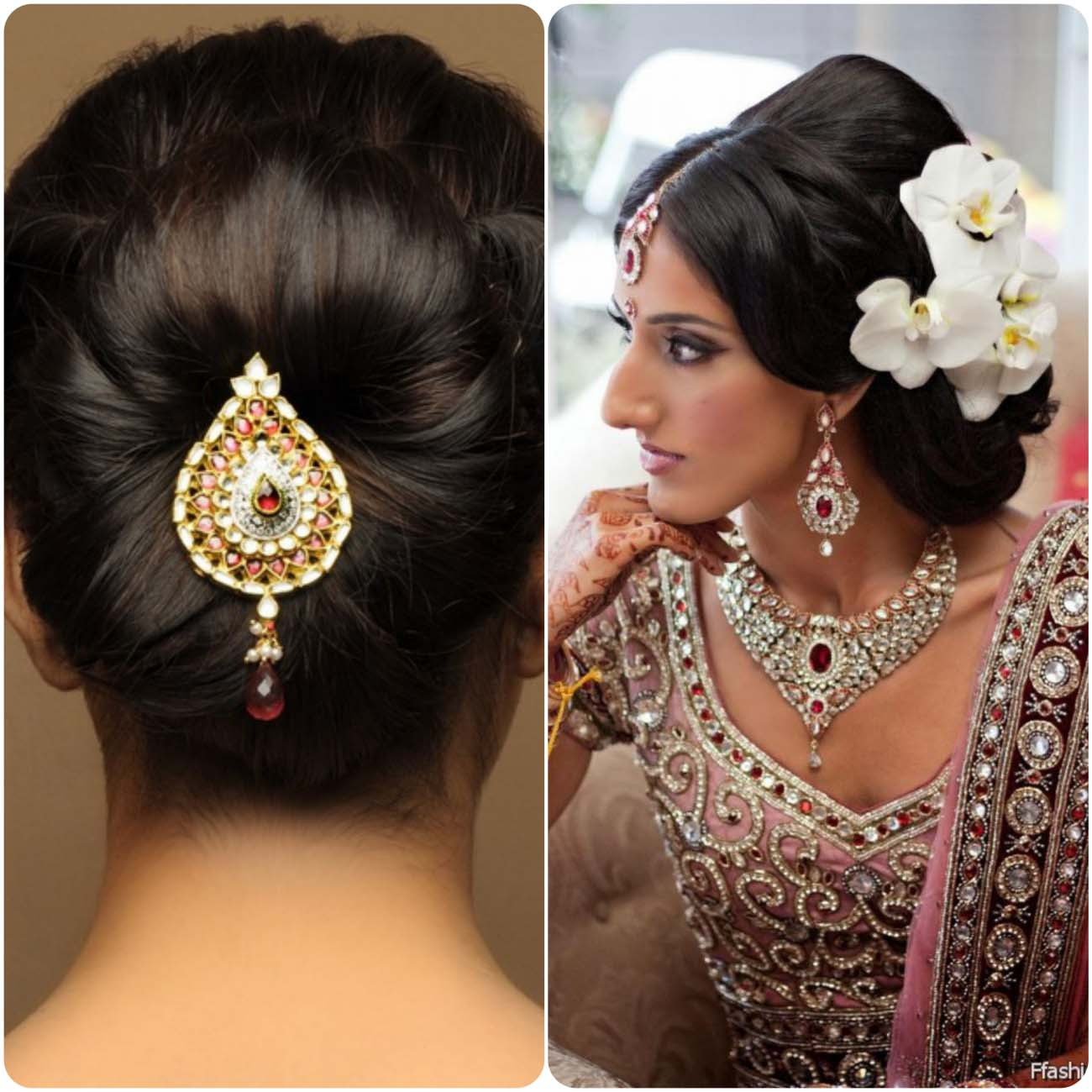 Hairstyles For Indian Brides  Indian Wedding Hairstyles For Brides 2017 2018
