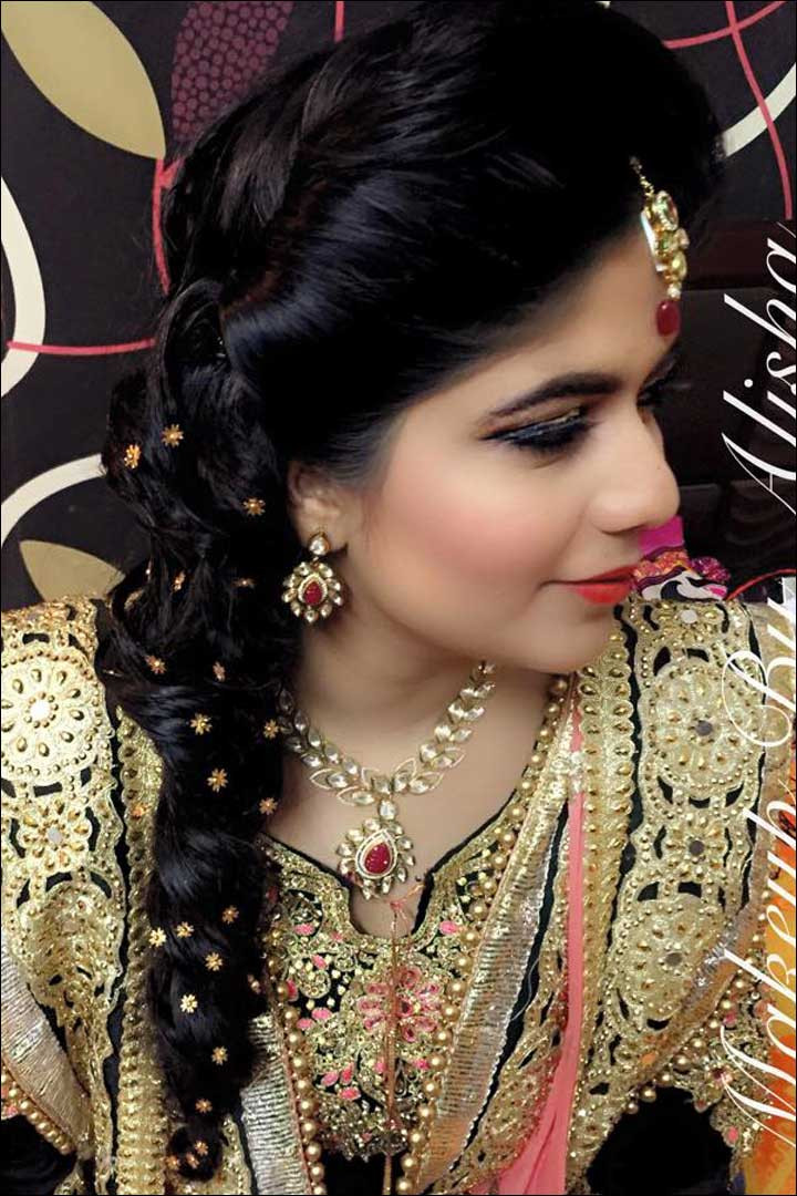 Hairstyles For Indian Brides  Indian Bridal Hairstyle Latest Dulhan Hairstyles For Wedding