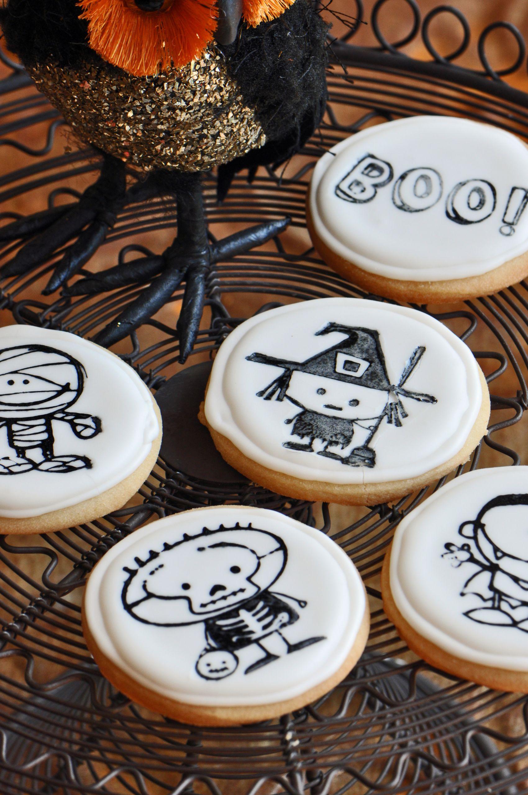 Halloween Cookies Pictures  Halloween Cookie Recipe No Trick All Treat