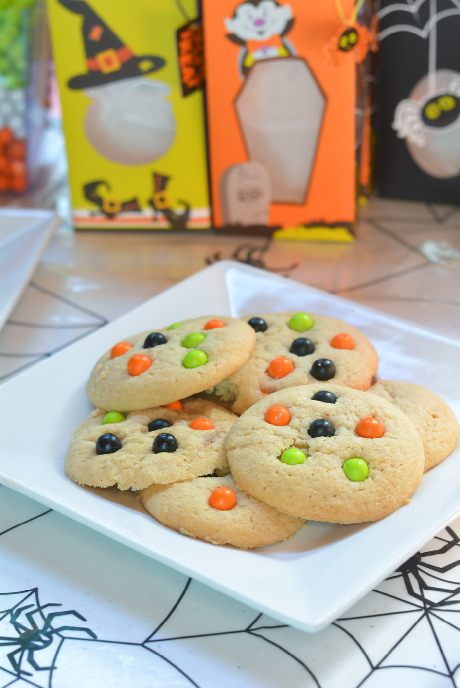 Halloween Cookies Pictures  Spooky Monster Cookies Mommy s Fabulous Finds