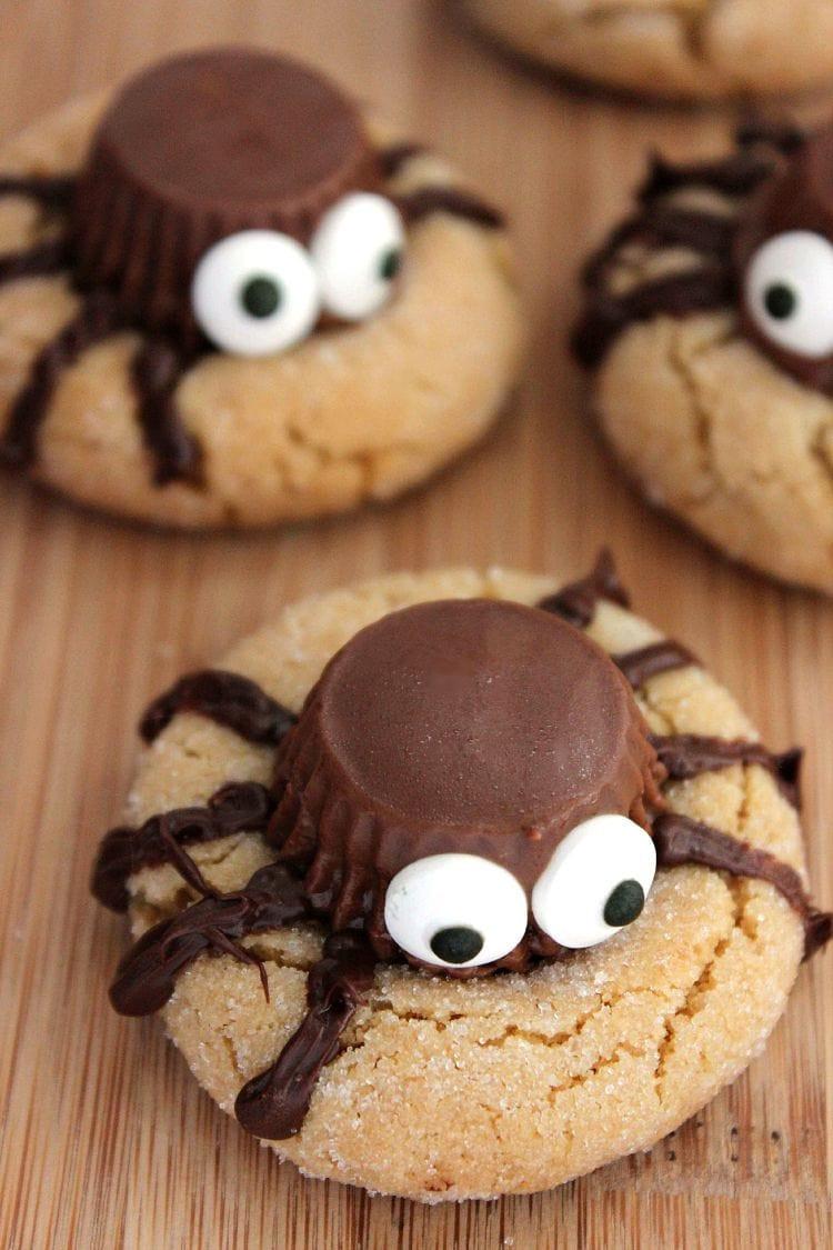 Halloween Cookies Pictures  Halloween Cookies Peanut Butter Spider Cookies