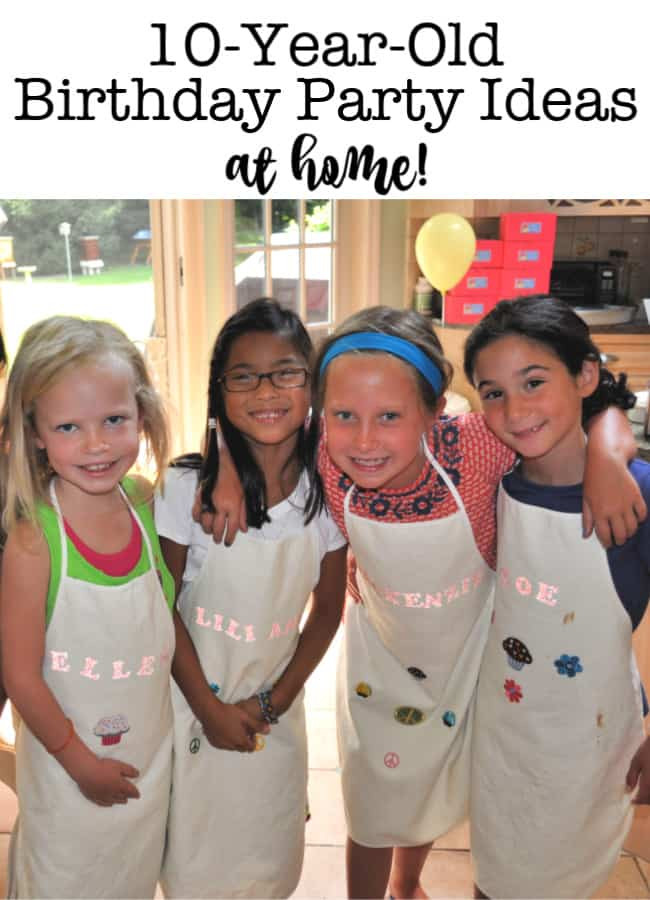 Halloween Party Ideas For 10 Year Olds  10 Year Old Birthday Party Ideas at Home Archives Mom 6