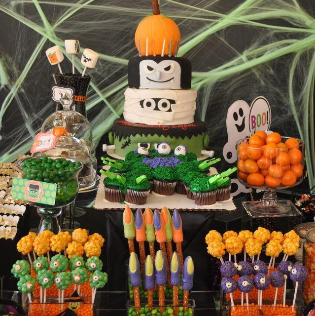 Halloween Party Ideas For 10 Year Olds  Festa infantil tema Halloween Maternizando