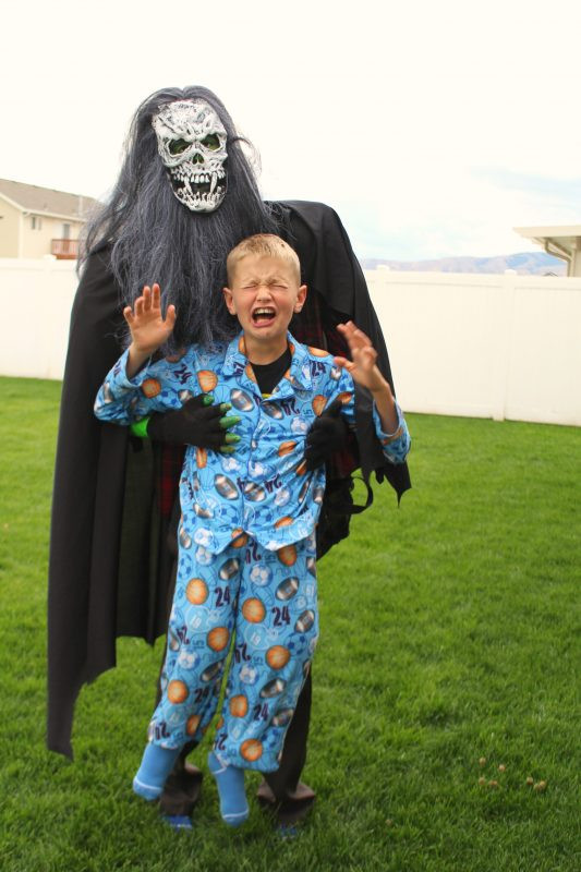 Halloween Party Ideas For 10 Year Olds  My son s Halloween costume how to A girl and a glue gun