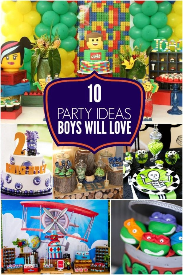 Halloween Party Ideas For 10 Year Olds  10 Party Ideas Boys Will Love Spaceships and Laser Beams
