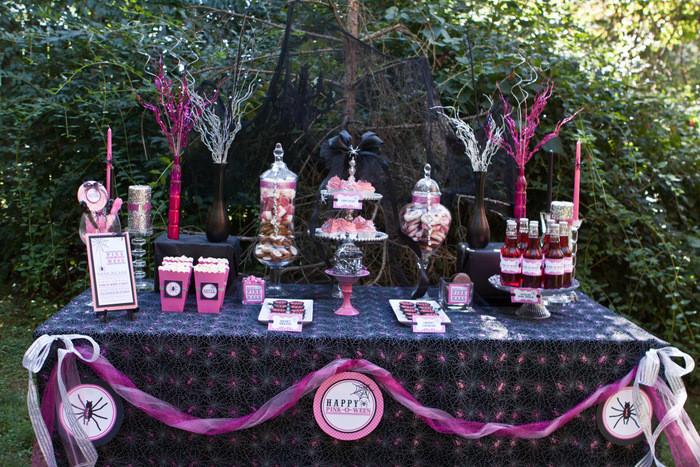 """Halloween Party Ideas For 10 Year Olds  Cómo preparar un """"candy buffet"""" – La una Pink"""