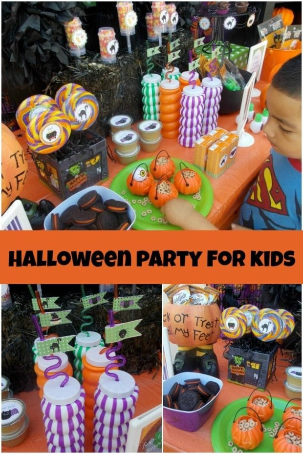 Halloween Themed Kid Party Ideas  A Halloween Party Perfect for Younger Kids
