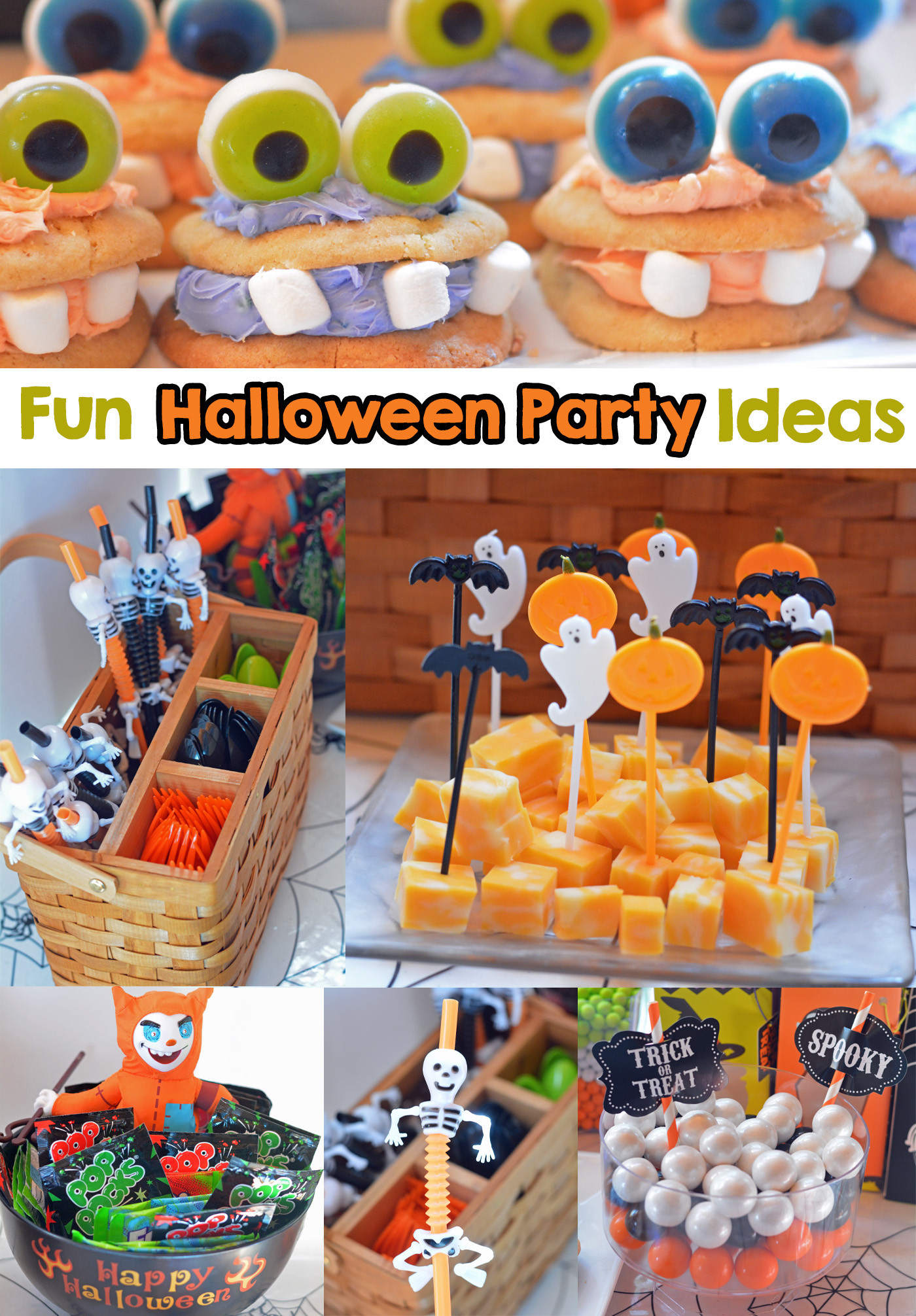 Halloween Themed Kid Party Ideas  Fun Halloween Party & Costume Ideas Mommy s Fabulous Finds