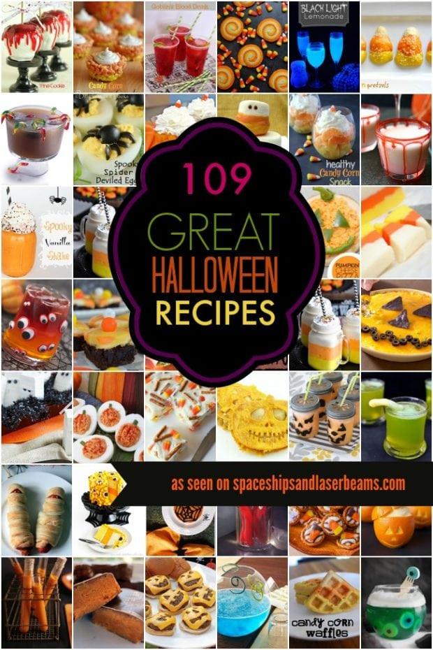 Halloween Themed Kid Party Ideas  Kids Party Food Ideas 109 Halloween Recipes