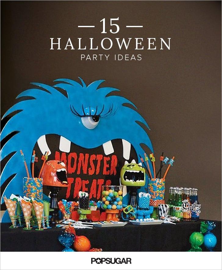 Halloween Themed Kid Party Ideas  Kid Friendly Halloween Party Ideas