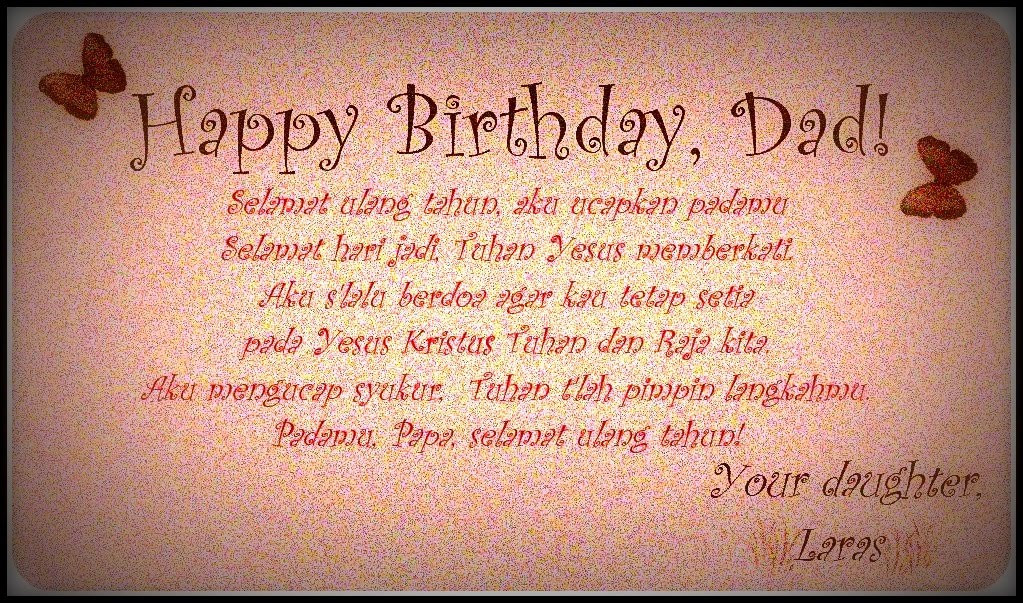 Happy Birthday Daddy Quotes  Happy Birthday Dad From Daughter Quotes QuotesGram