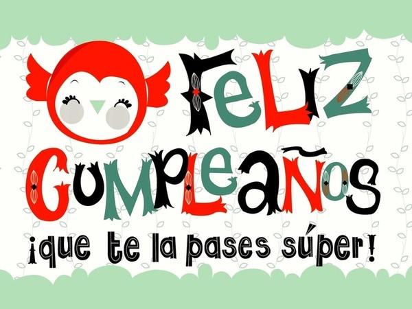 Happy Birthday In Spanish Quotes  11 best images about Happy birthday in Spanish on Pinterest