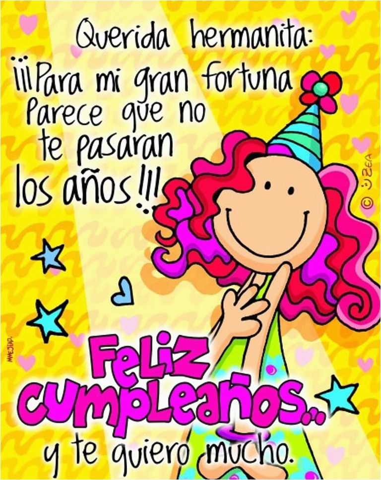 Happy Birthday In Spanish Quotes  Happy Birthday Quotes for Sister In Spanish