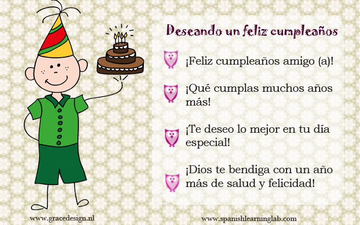 Happy Birthday In Spanish Quotes  Birthday Quotes In Spanish QuotesGram