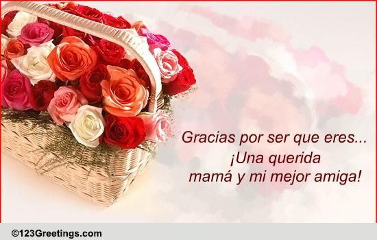 Happy Birthday In Spanish Quotes  B day Wish For Mom In Spanish Free For Mom & Dad eCards
