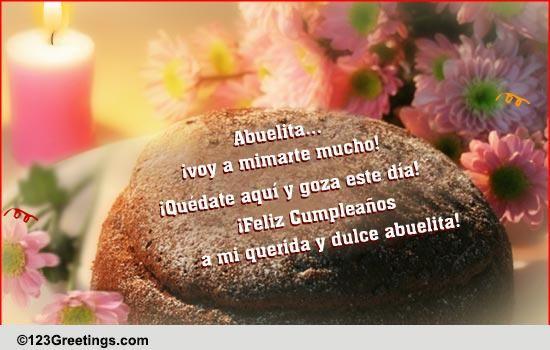 Happy Birthday In Spanish Quotes  B day Wish For Grandma In Spanish Free Grandparents
