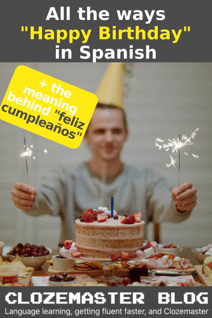 """Happy Birthday In Spanish Quotes  How to Say """"Happy Birthday"""" in Spanish – Useful Phrases"""