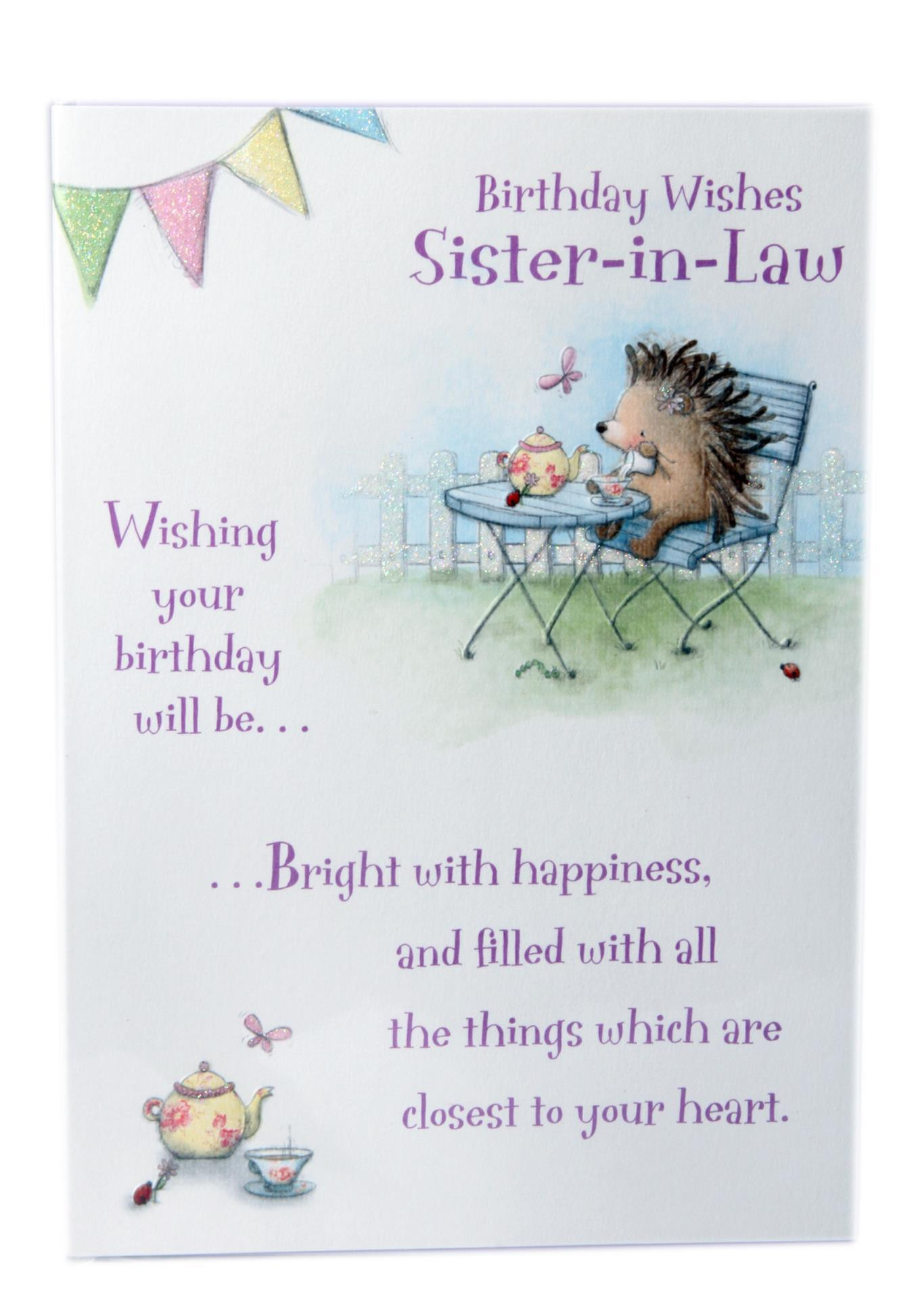 Happy Birthday Quotes For Sister  Happy Birthday Sister In Law Quotes & Wishes