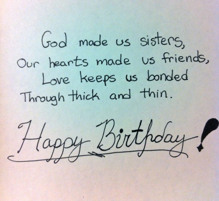 Happy Birthday Quotes For Sister  Top 212 ULTIMATE Happy Birthday Sister Wishes and Quotes