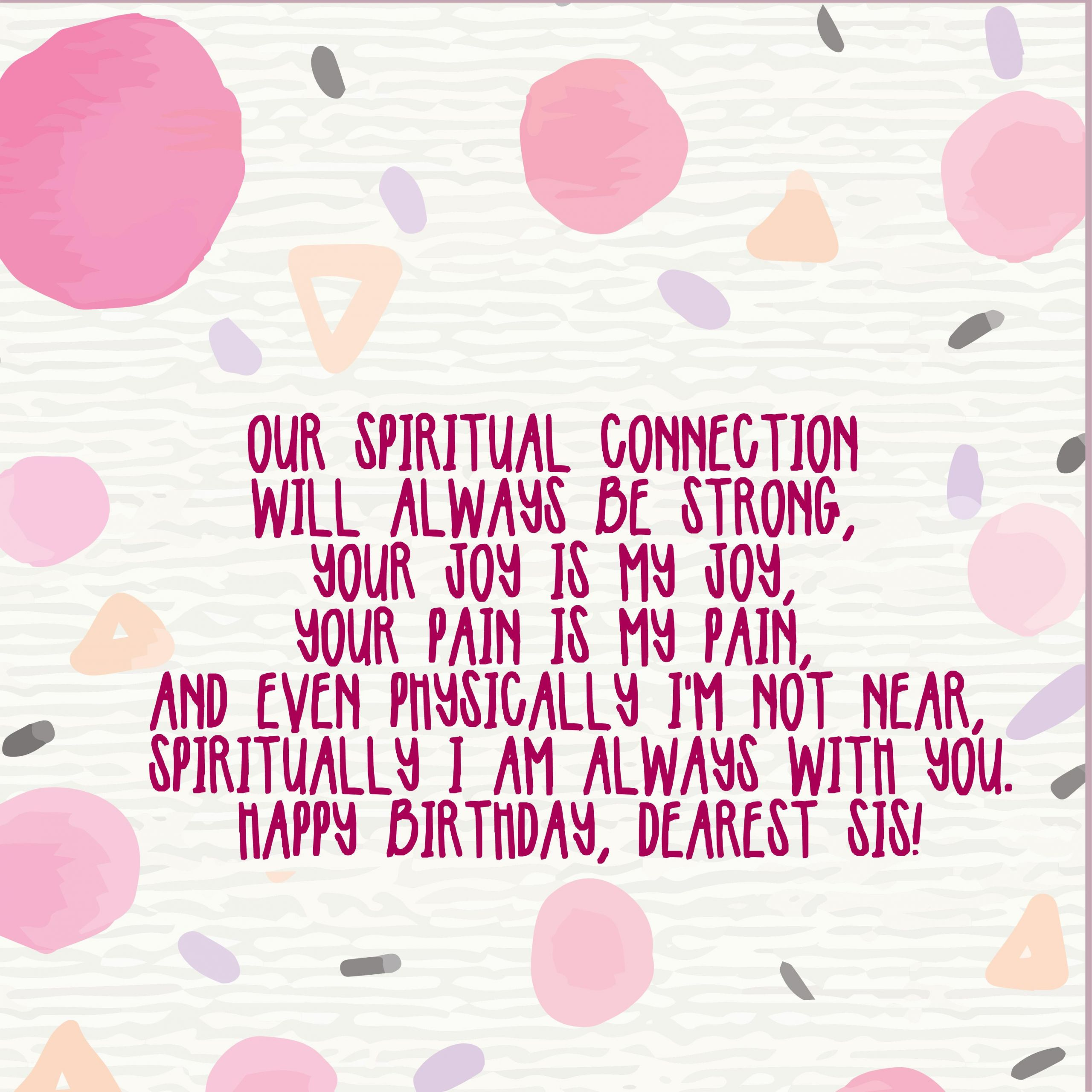 Happy Birthday Quotes For Sister  220 Birthday Wishes for Sister – Top Happy Birthday Wishes