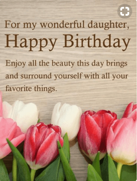 Happy Birthday To My Beautiful Daughter Quotes  60 Best Happy Birthday Quotes and Sentiments for Daughter