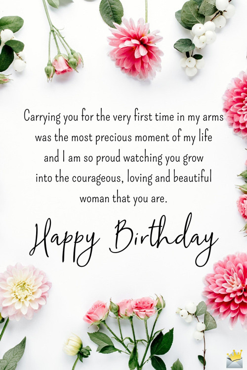 Happy Birthday To My Beautiful Daughter Quotes  Birthday Quotes for my Daughter