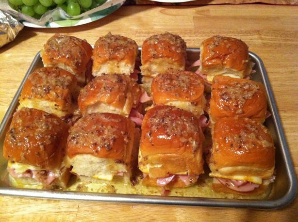 Hawaiian Bread Ham Sandwiches  BEST DARN HAM SANDWICHES