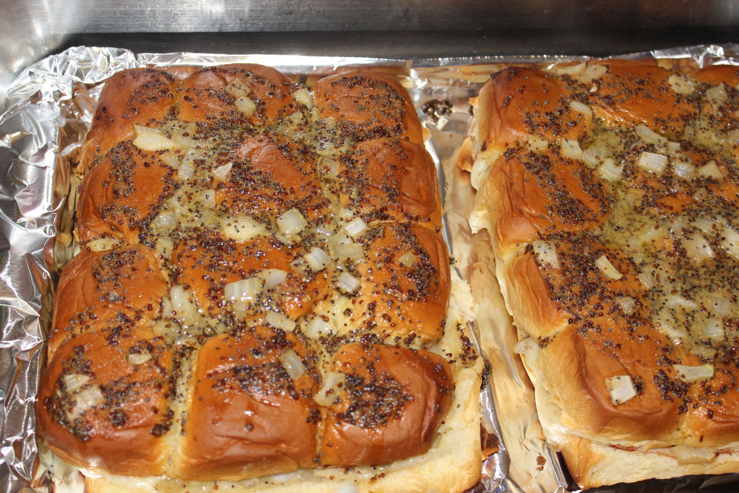 Hawaiian Bread Ham Sandwiches  Hawaiian Ham & Cheese Sandwiches