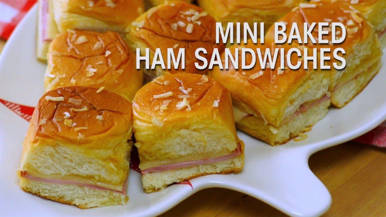 Hawaiian Bread Ham Sandwiches  King s Hawaiian Recipe Mini Baked Ham Sandwiches