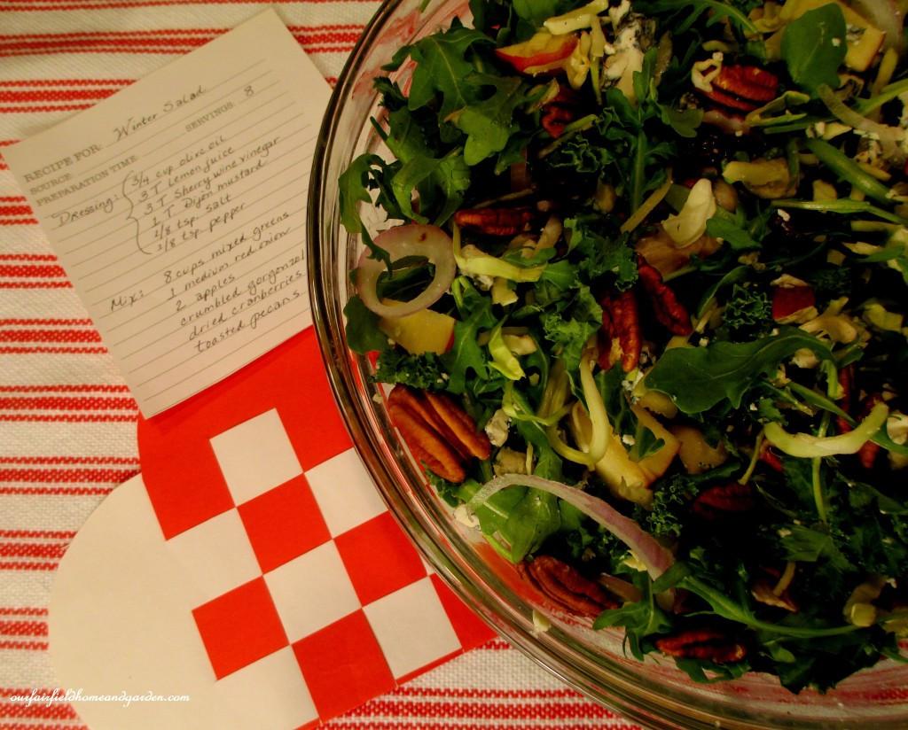 Heart Healthy Winter Recipes  Valentine's Day Recipes Heart Healthy Winter Salad
