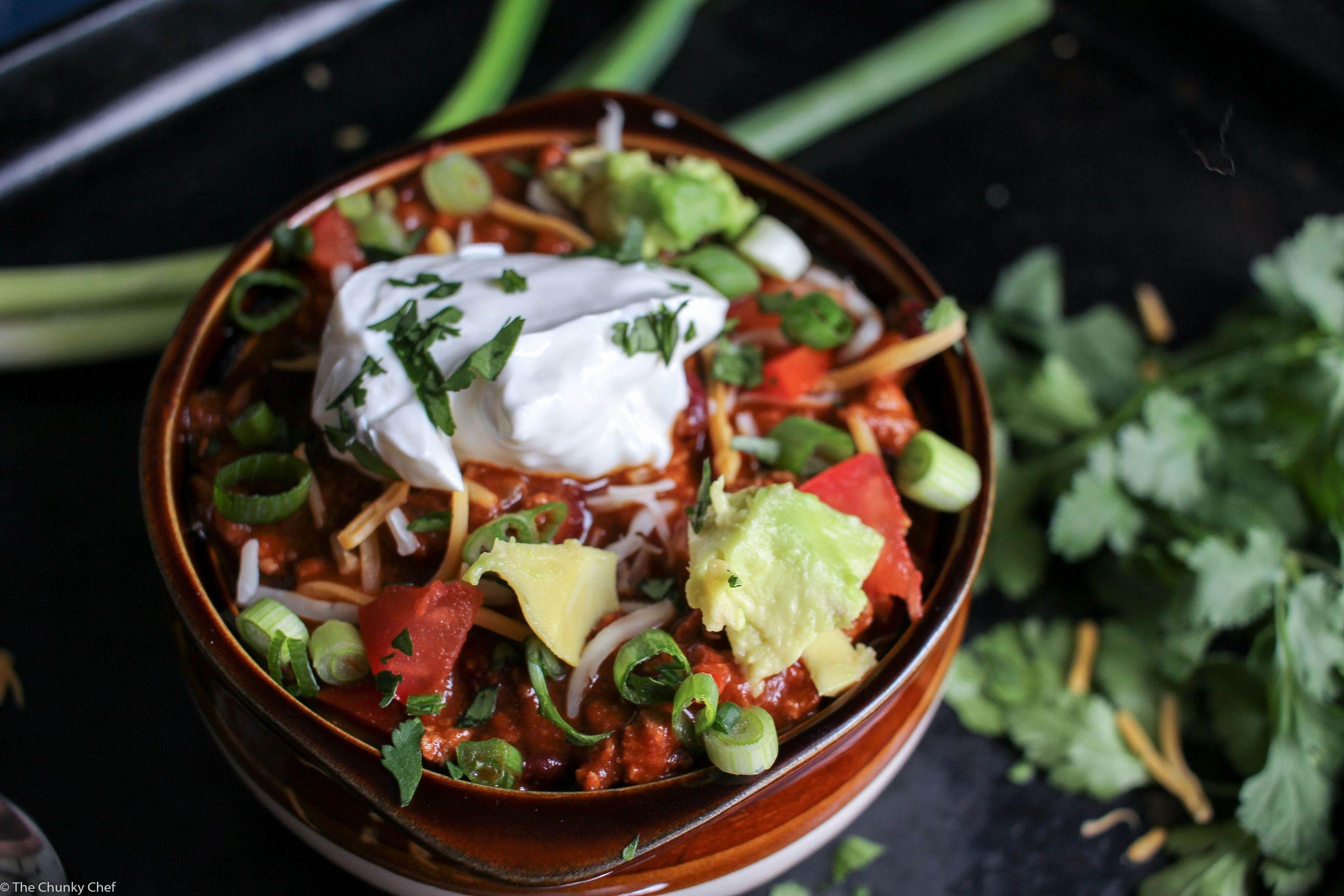 Heart Healthy Winter Recipes  Heart Healthy Turkey Chili Recipe