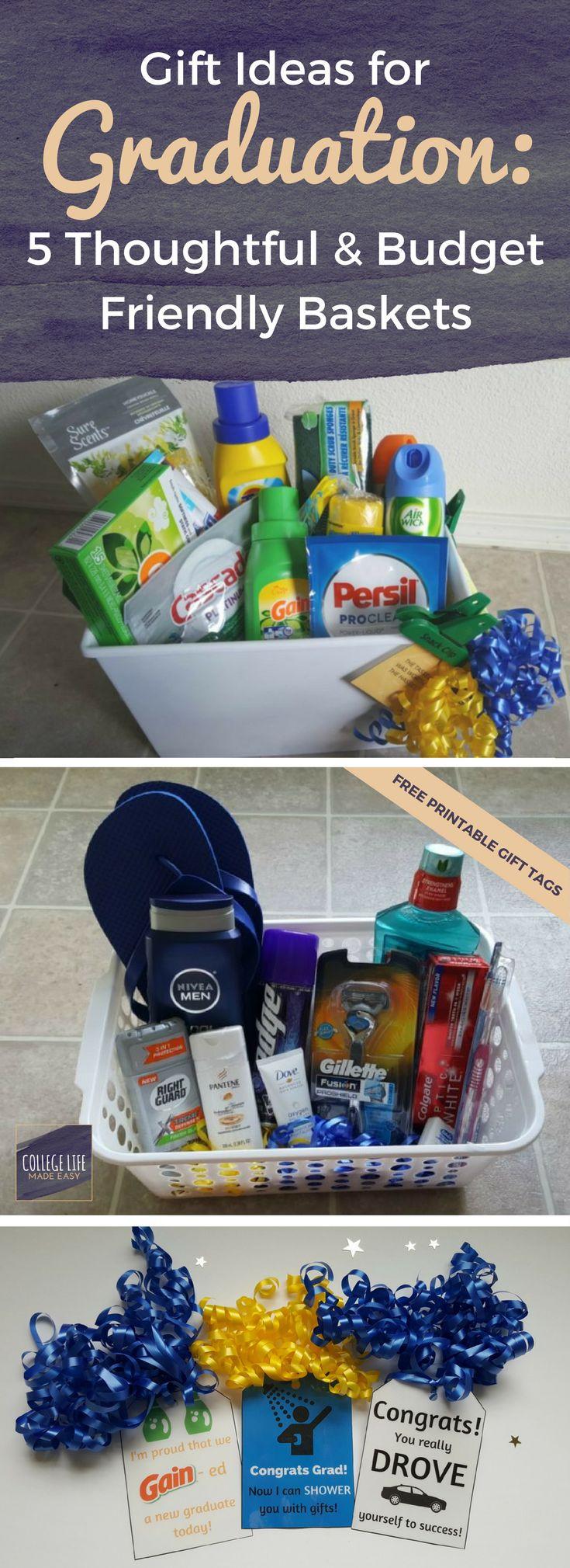 High School Graduation Gift Ideas For Guys  Gift Ideas for Graduation 5 Thoughtful & Bud Friendly