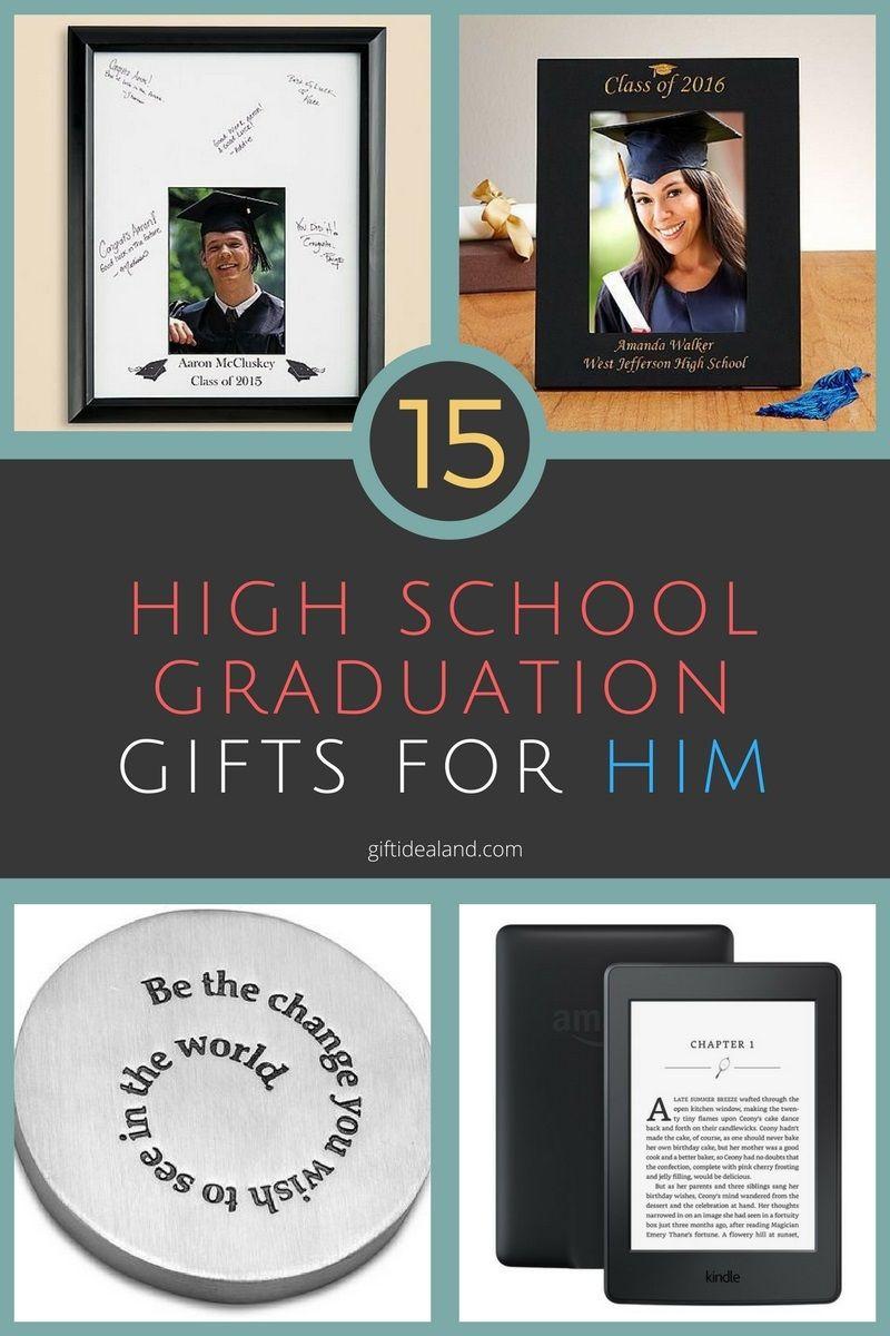 High School Graduation Gift Ideas For Guys  15 Great High School Graduation Gift Ideas For Him