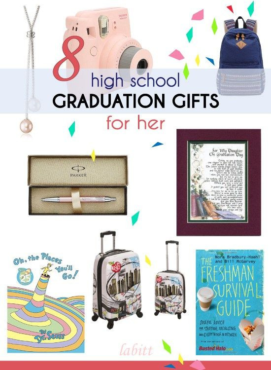 High School Graduation Gift Ideas For Her  15 High School Graduation Gift Ideas for Girls