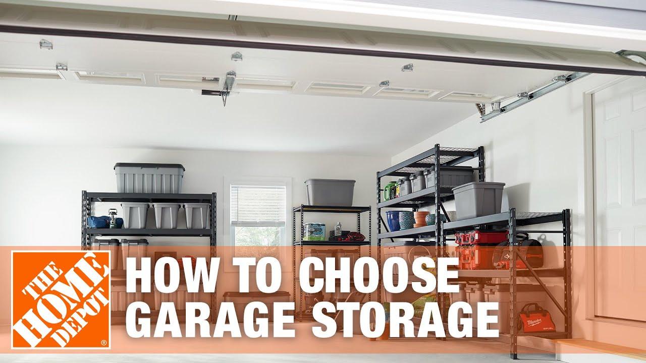 Home Depot Garage Organization  Garage Organization Ideas