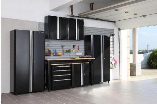 Home Depot Garage Organization  Trending in the Aisles Husky Garage Cabinet Storage