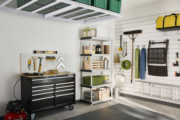 Home Depot Garage Organization  DIY Garage Storage