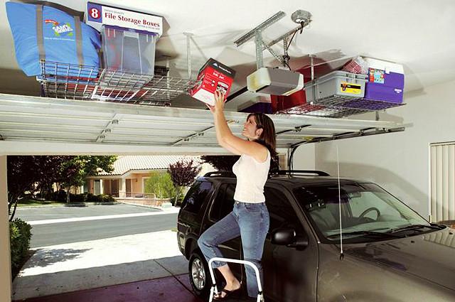 Home Depot Garage Organization  Overhead Garage Storage