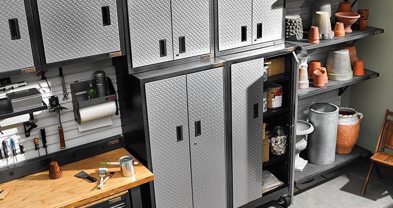 Home Depot Garage Organization  Garage Storage Shelving Units Racks Storage Cabinets
