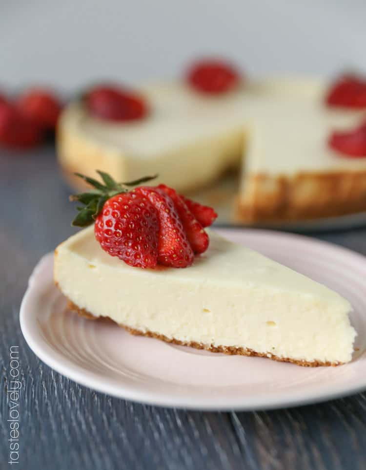 Home Made Cheese Cake  Easy Homemade Cheesecake — Tastes Lovely