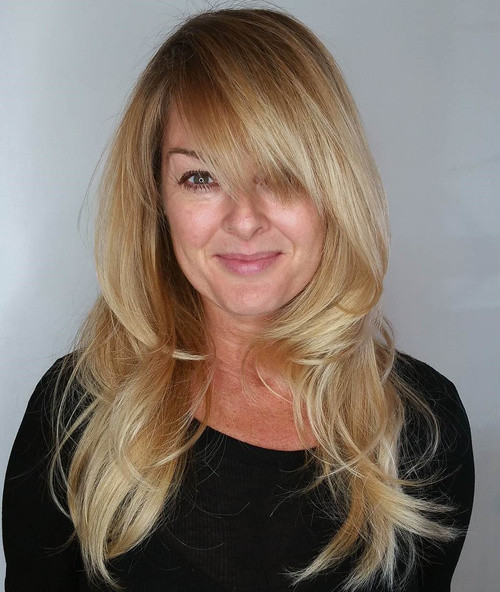 How To Cut Bangs On Long Hair  40 Cute and Effortless Long Layered Haircuts with Bangs